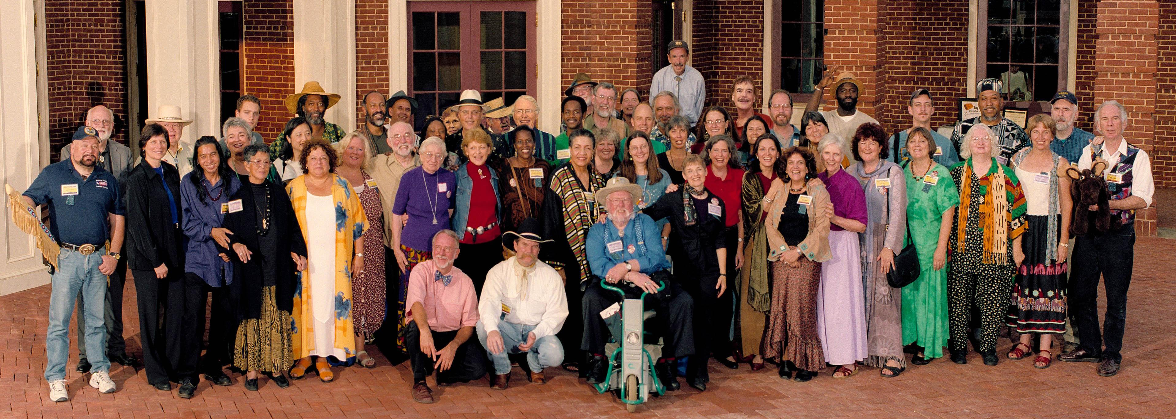 Reunion of all featured tellers from years past at the 30th Annual National Storytelling Festival